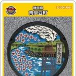 南伊豆町(A001)のマンホールカード