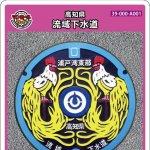 高知県(A001)のマンホールカードの休日の試行配布について