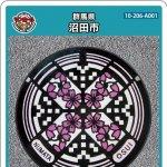 沼田市(A001)のマンホールカード