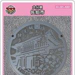 佐伯市(A001)のマンホールカード