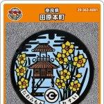 田原本町(A001)のマンホールカード