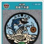 埼玉県(E001)のマンホールカード