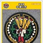 中津川市(A001)のマンホールカード