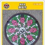 静岡市(A001)のマンホールカード