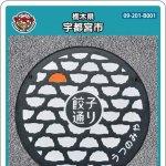宇都宮市(B001)のマンホールカード