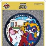 小平市(B001)のマンホールカード