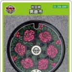 【8月1日配布開始】男鹿市(A001)のマンホールカード
