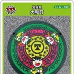 大和町(A001)のマンホールカード