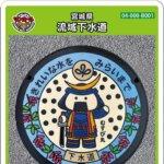 【2021年5月15日配布開始】宮城県(B001)のマンホールカード